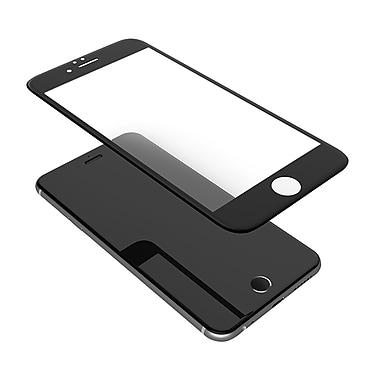 iPhone 8 Plus Premium Tempered Glass Protectors , Black (DSPIP8PLUSBLK)