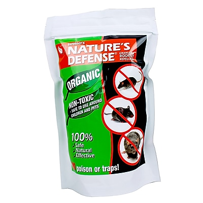 Bird-X Nature's Defense Organic Rodent Repellent, Granules