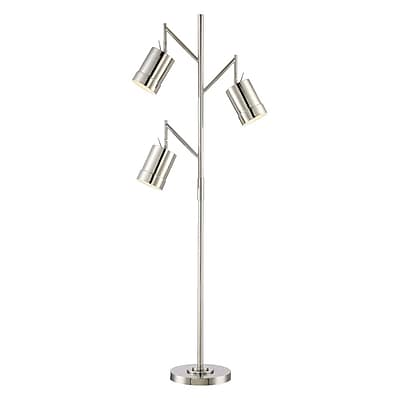 Lite-Source Incandescent 3-Light Chrome Floor Lamp (STL-LTR464808)