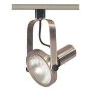Satco Incandescent 1-Light Brushed Nickel Track Light (STL-SAT403026)