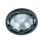 Lite-Source Halogen 1-Light Halogen Black Puck Light (STL-LTR400530)