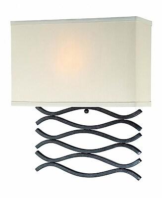 Lite-Source 1-Light CFL Dark Bronze Wall Sconce (STL-LTR446422)