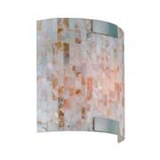 Lite-Source Incandescent 1-Light Polished Steel Wall Sconce (STL-LTR443049)