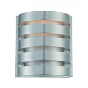 Lite-Source Incandescent 1-Light Silver Wall Sconce (STL-LTR461982)