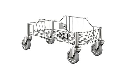 Suncast Commercial Narrow Trashcan Dolly Stainless (TCNDOLLYSS)