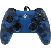 1503455 01 Wired Controller for Xbox One (Midnight Blue Camo) (PWR150345501) by