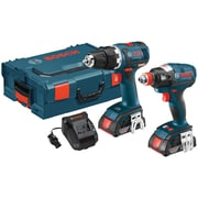 "Brushless 1/4"" & 1/2"" Socket-Ready Impact Driver & Brushless Compact Tough 1/2"" Drill/Driver 18-Volt Cordless Combo Kit"