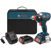 "IDH182-02 18-Volt Brushless 1/4"" & 1/2"" Socket-Ready Impact Driver Kit (BOSCIDH18202)"