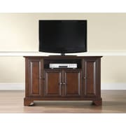 "Crosley LaFayette 48"" TV Stand in Vintage Mahogany Finish (KF10002BMA)"