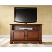 "Crosley Alexandria 42"" TV Stand in Classic Cherry Finish (KF10003ACH)"