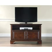 "Crosley LaFayette 42"" TV Stand in Vintage Mahogany Finish (KF10003BMA)"