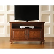 "Crosley Cambridge 42"" TV Stand in Classic Cherry Finish (KF10003DCH)"