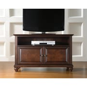 "Crosley Cambridge 42"" TV Stand in Vintage Mahogany Finish (KF10003DMA)"