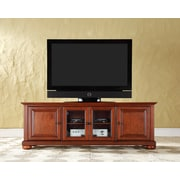 "Crosley Alexandria 60"" Low Profile TV Stand in Classic Cherry Finish (KF10005ACH)"