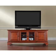 "Crosley LaFayette 60"" Low Profile TV Stand in Classic Cherry Finish (KF10005BCH)"