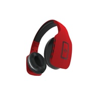 Jade Foldable Bluetooth Headphones with Built in Mic & Hands Free Remote, Red (OTBTHPJE-RD)