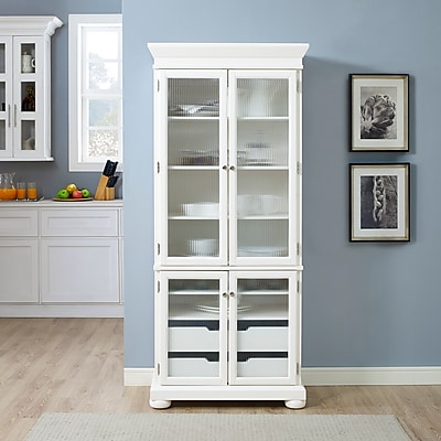 Crosley Alexandria Kitchen Pantry in White Finish (KF33001WH)