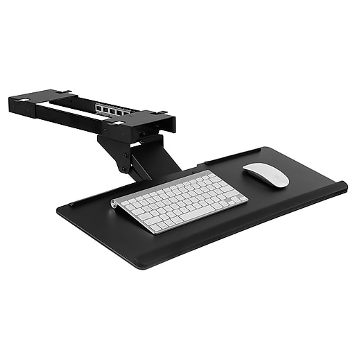 Mount It Under Desk Computer Keyboard And Mouse Tray
