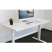 Mount-It! Table Top For Sit Stand Desk - 29 x 59 Inches - White (MI-7936)