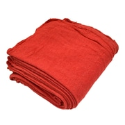 Pro-Clean Basics Bulk Shop Towels, 100-Pack, Red (A21825)