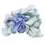 Pro-Clean Basics Recycled or Reclaimed Colored Sheeting Rags Pallet, 630 lbs. or 42 15 lbs. Cartons, Assorted Colors (A99406)
