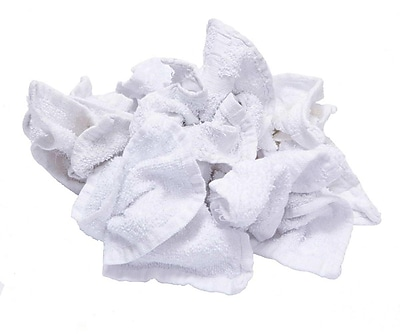 Pro-Clean Basics Terry Cloth Rag Pallet, 630 lbs. or 42 15 lb. Cartons, White (A99407)