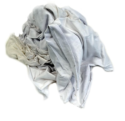 Pro-Clean Basics Recycled or Reclaimed T-Shirt Cloth Rags Pallet, 630 lbs. or 42 15 lb. Cartons, Assorted Colors (A99405)