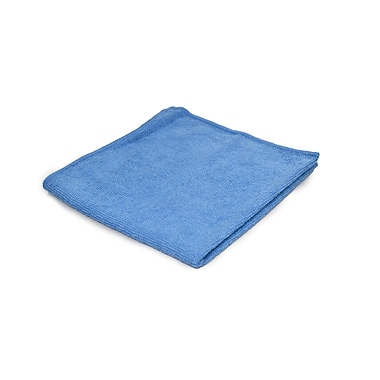 Pro-Clean Basics Microfiber General Purpose Cleaning Cloth Pallet, 12