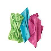 Pro-Clean Basics Microfiber Rags, 10 lb. Box, Assorted Colors (A73126)