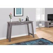 """Monarch Specialties 42"""" Long Computer Desk With Storage Drawer, Grey (I 7192)"""
