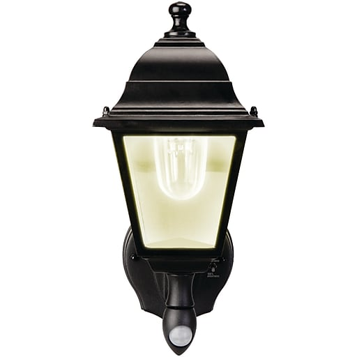MAXSA Innovations 44219 Motion-Activated Wall Sconce (Black)