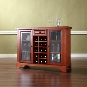 Crosley LaFayette Sliding Top Bar Cabinet in Classic Cherry Finish (KF40002BCH)