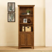 Crosley Sienna Bookcase in Moroccan Pine (CF1108-MP)