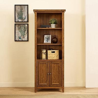 Crosley Sienna Bookcase in Moroccan Pine (CF1108-MP)