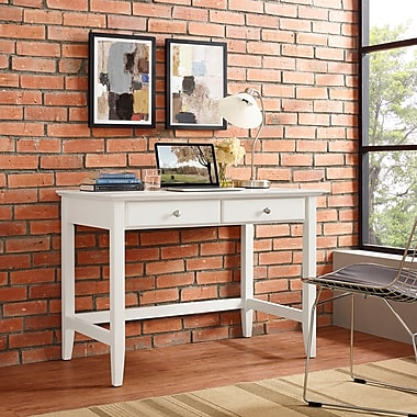 Crosley Campbell Writing Desk in White Finish (CF6506-WH)