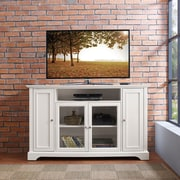 """Crosley Campbell 60"""" TV Stand in White Finish (CF101060-WH)"""