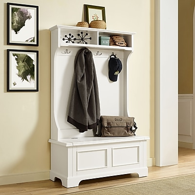 Crosley Campbell Hall Tree In White Finish (CF6005-WH)