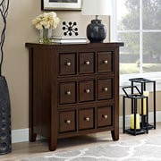 Crosley Sienna Accent Chest In Rustic Mahogany (CF8001-RM)