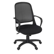 Regency Seating Agent Swivel Office Chair, Black, Fixed Arms (5135BK)