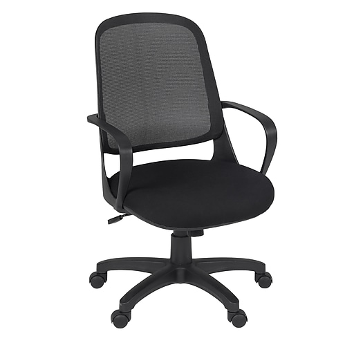 Amazing Regency Seating Agent Swivel Office Chair Black Fixed Arms 5135Bk Ocoug Best Dining Table And Chair Ideas Images Ocougorg