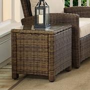 Crosley Bradenton Outdoor Wicker Rectangular Side Table (CO7219-WB)