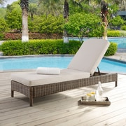 Crosley Bradenton Chaise Lounge With Sand Cushions (KO70070WB-SA)
