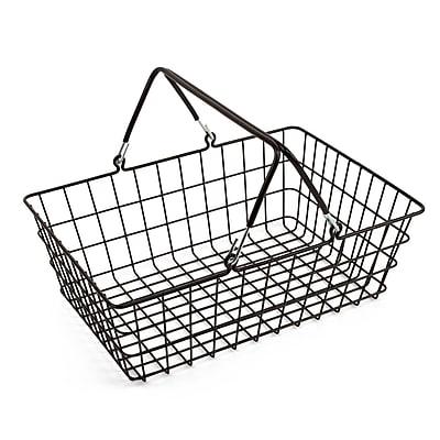 Design Ideas ShopCrate Basket, Black (2004)
