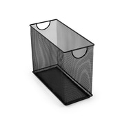 Design Ideas Mesh Tabletop File, Black (34234)