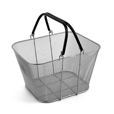 Design Ideas Mini Mesh ShopCrate Basket, Silver (229009)