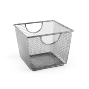 Design Ideas Mesh Storage Nest, Small, Silver (351409)