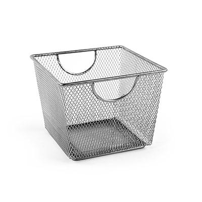 Design Ideas Mesh Storage Nest, Small, Silver (351409)