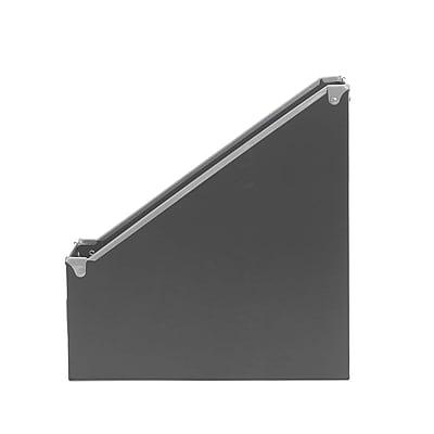 Design Ideas Paperboard Frisco Magazine File, Gray (3060630)