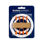 Design Ideas Archery Pushpins, Set of 8 (3206006)