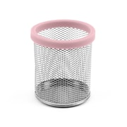 Design Ideas Mesh Digit Pencil Cup, Pink (3419606)